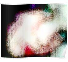 Ophelia Looked Heavenward - optical illusion art Poster