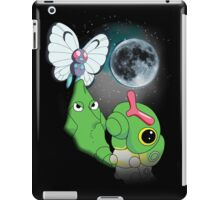 Caterpie Three Evolution Moon iPad Case/Skin