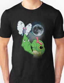 Caterpie Three Evolution Moon T-Shirt