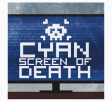 Cyan Screen by frasergiles