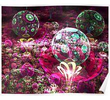 my 3d bubble garden Poster