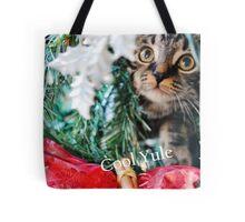 Cool Yule Cat Tote Bag