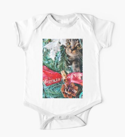 Cool Yule Cat One Piece - Short Sleeve