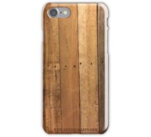 Pallet Wood - State Pallets iPhone Case/Skin