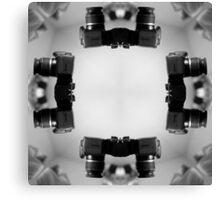 Kaleidoscopic Camera Print  Canvas Print