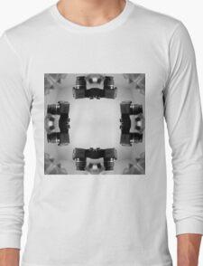 Kaleidoscopic Camera Print  Long Sleeve T-Shirt