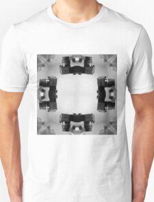 Kaleidoscopic Camera Print  T-Shirt