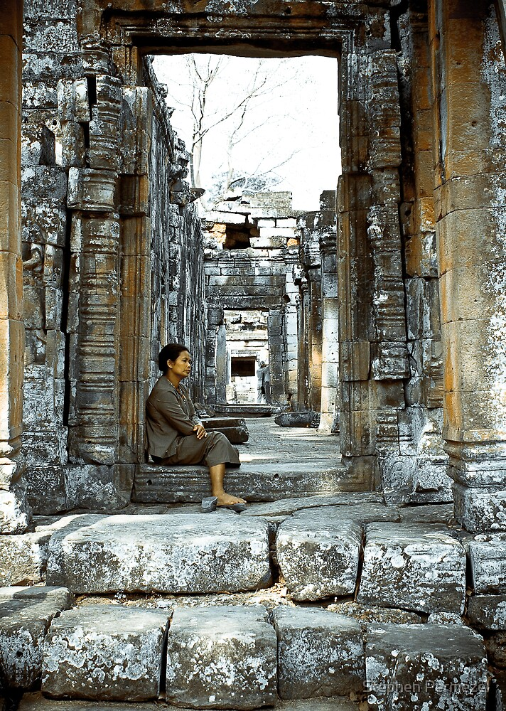 Passing Time - Temples of Angkor, Cambodia by Stephen Permezel