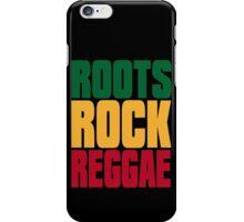 ROOTS ROCK REGGAE iPhone Case/Skin
