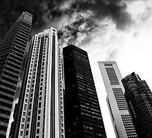 BUILDINGS city in the mood by benbdprod