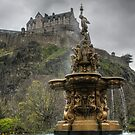 Castle and Fountain by Tom Gomez