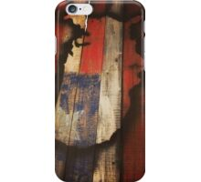 USA Map - State Pallets iPhone Case/Skin