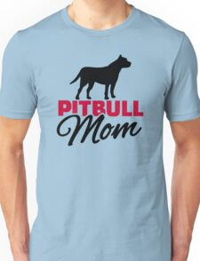 Pitbull Mom Unisex T-Shirt