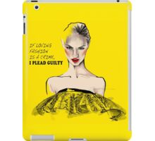 Yellow is a new Black iPad Case/Skin