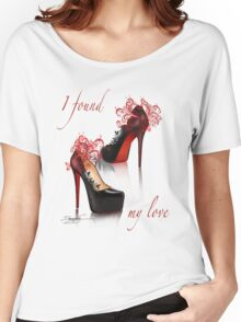 I found my love Women's Relaxed Fit T-Shirt