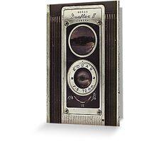 Vintage Camera I Greeting Card