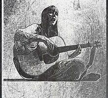Joni Mitchell by Iliveinfantasy