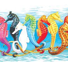 Horses of the Sea by Nancy Pobiak