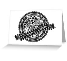 SuicideSkull Greeting Card