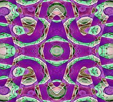 Purple abstract by Donna Grayson