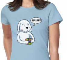 Smart Dog Womens Fitted T-Shirt