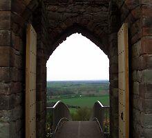 Beeston castle doorway by Kimberley  x ♥ Davitt