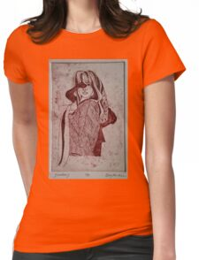 Shadows 1 Womens Fitted T-Shirt