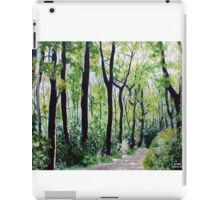 'Tall Trees Along the Moses Cone Trail' iPad Case/Skin