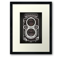 Vintage Camera II Framed Print