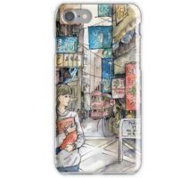 The city cries iPhone Case/Skin
