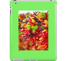 Colorful Hot Pepper Bunches iPad Case/Skin