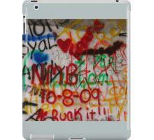 Graffiti.   iPad Case/Skin