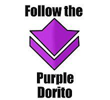 Commander's Compendium - Purple Photographic Print