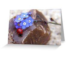 ladybug paradise ... Greeting Card