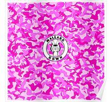 Pink Camo - Mallard Down Poster