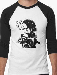 metal gear solid Men's Baseball ¾ T-Shirt