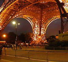 Eiffel Orange - Paris, France by Deanna Roberts Think in Pictures