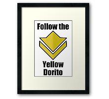 Commander's Compendium - Yellow Framed Print