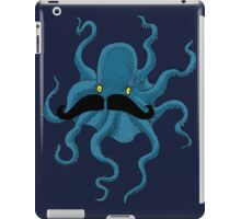 Octopus with a Mustache iPad Case/Skin