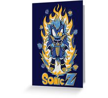 SONIC Z Greeting Card