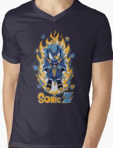SONIC Z Mens V-Neck T-Shirt