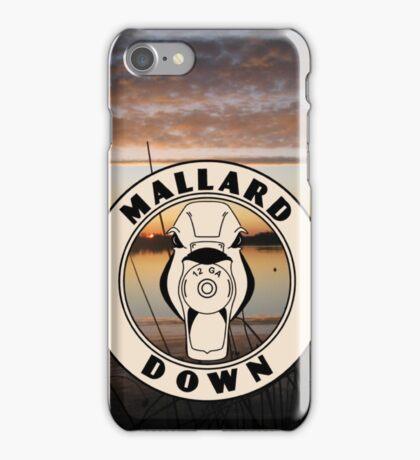 Duck Hunting Sunset - Mallard Down iPhone Case/Skin