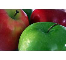 Apples Red & Green Photographic Print