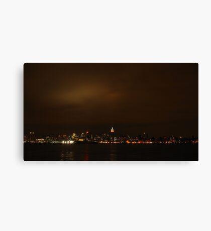 Manhattan. Canvas Print
