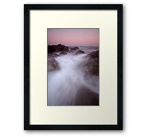 Parker River Inlet - Otways Framed Print
