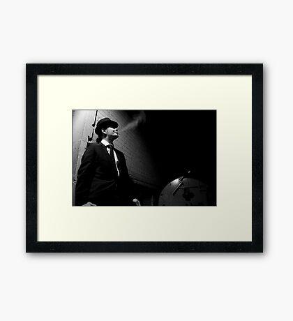 Joe Shmokes 2 Framed Print