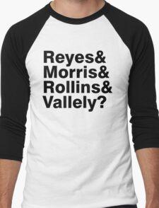 Black Flag vocals list ampersand shirt Men's Baseball ¾ T-Shirt