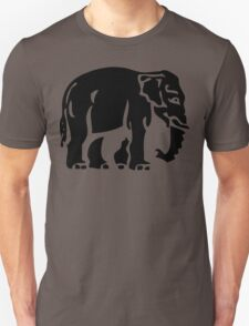 Caution Elephants Crossing ⚠ Thai Road Sign ⚠ T-Shirt