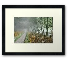 The Disappearing Man, Wolfscote Dale Framed Print