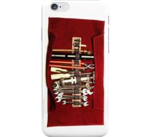 1950s Ferrari Tool Kit iPhone Case/Skin